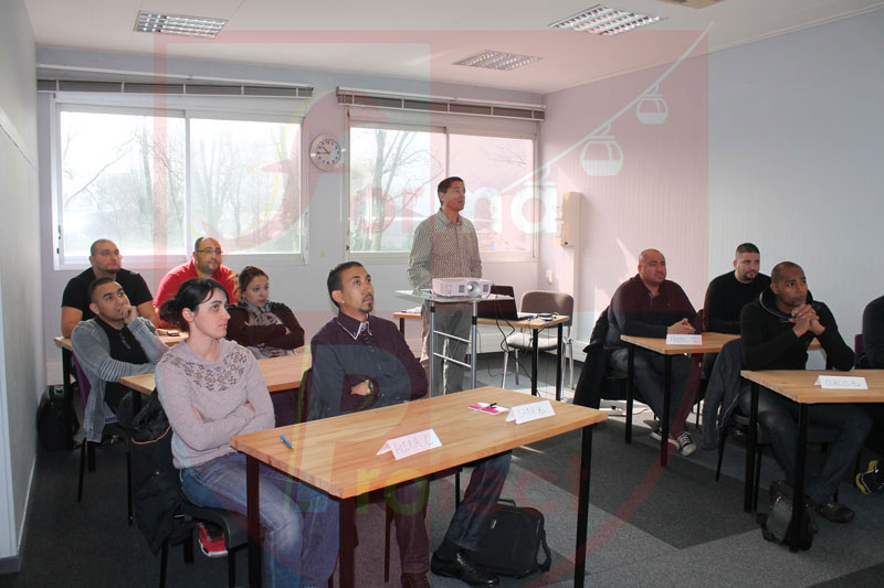 Formation au centre de Sassenage